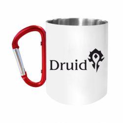 "Кружка с ручкой ""карабин"" Druid Orc"