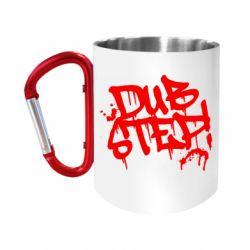 "Кружка с ручкой ""карабин"" Dub Step Граффити"