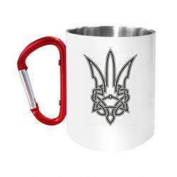 Кружка з ручкою-карабіном Emblem 18