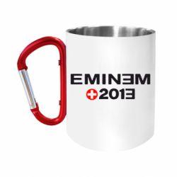 Кружка з ручкою-карабіном Eminem 2013