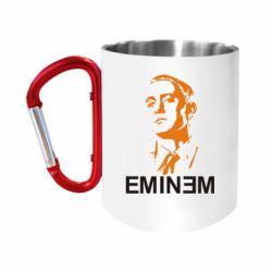 """Кружка с ручкой """"карабин"""" Eminem Logo"""
