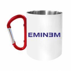 Кружка з ручкою-карабіном Eminem