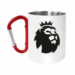 Кружка з ручкою-карабіном English Premier League
