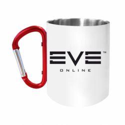 """Кружка с ручкой """"карабин"""" EVE Online"""