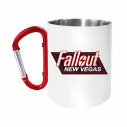 """Кружка с ручкой """"карабин"""" Fallout New Vegas"""