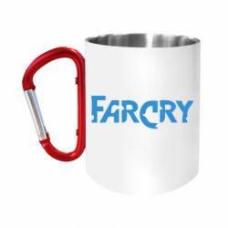 Кружка з ручкою-карабіном FarCry