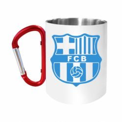 "Кружка с ручкой ""карабин"" FC Barcelona"