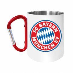 Кружка з ручкою-карабіном FC Bayern Munchen