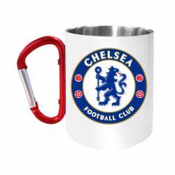 """Кружка с ручкой """"карабин"""" FC Chelsea"""