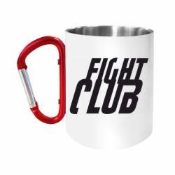 Кружка з ручкою-карабіном Fight Club