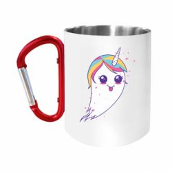Кружка з ручкою-карабіном Ghost Unicorn