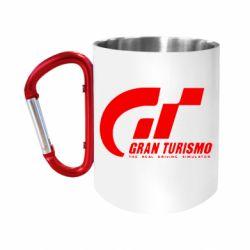 """Кружка с ручкой """"карабин"""" Gran Turismo"""