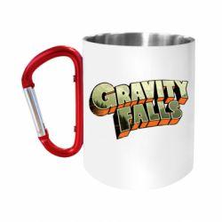 "Кружка с ручкой ""карабин"" Gravity Falls"