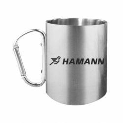 Кружка з ручкою-карабіном Hamann