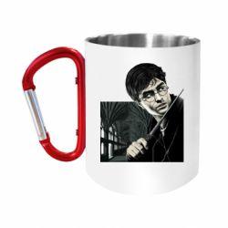"""Кружка с ручкой """"карабин"""" Harry Potter"""