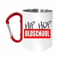 Кружка з ручкою-карабіном Hip Hop oldschool