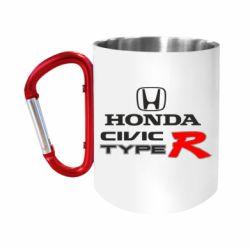 Кружка з ручкою-карабіном Honda Civic Type R