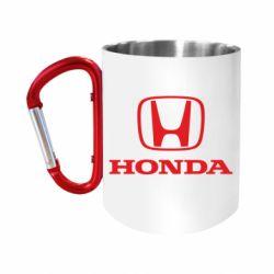 Кружка з ручкою-карабіном Honda Classic