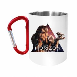 Кружка з ручкою-карабіном Horizon Zero Dawn