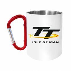 Кружка з ручкою-карабіном Isle of man