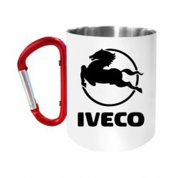 """Кружка с ручкой """"карабин"""" IVECO"""