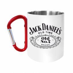 "Кружка с ручкой ""карабин"" Jack Daniel's Old Time"