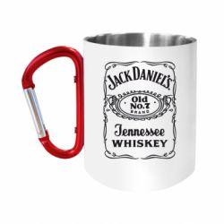 Кружка з ручкою-карабіном Jack daniel's Whiskey