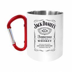 "Кружка с ручкой ""карабин"" Jack Daniel's"