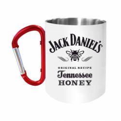 """Кружка с ручкой """"карабин"""" Jack Daniels Tennessee"""