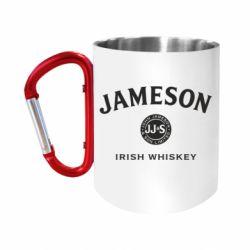 Кружка з ручкою-карабіном Jameson Whiskey