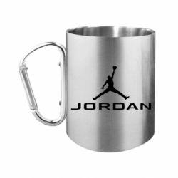 Кружка з ручкою-карабіном Jordan