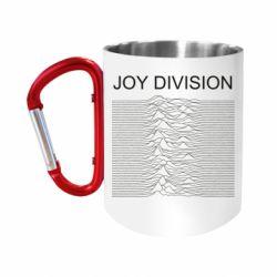 Кружка з ручкою-карабіном Joy devision
