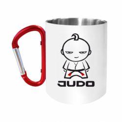 Кружка з ручкою-карабіном Judo Fighter