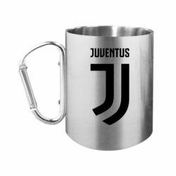 """Кружка с ручкой """"карабин"""" Juventus Logo"""