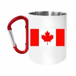 Кружка з ручкою-карабіном Канада