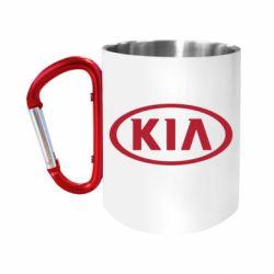 """Кружка с ручкой """"карабин"""" KIA"""