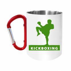 """Кружка с ручкой """"карабин"""" Kickboxing Fighter"""