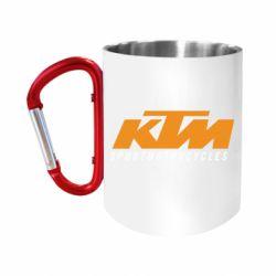 Кружка з ручкою-карабіном KTM Sportmotorcycles