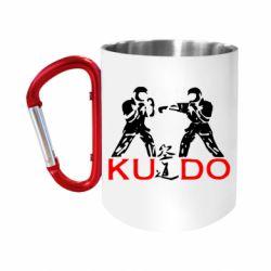 """Кружка с ручкой """"карабин"""" Kudo Fight"""