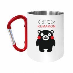 Кружка з ручкою-карабіном Kumamon
