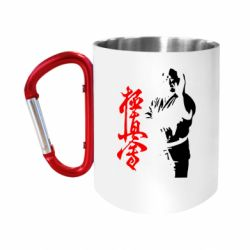 Кружка з ручкою-карабіном Kyokushin Kanku Master