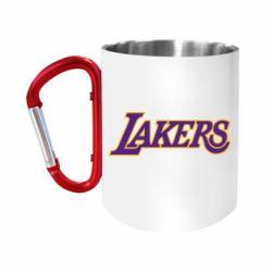 Кружка з ручкою-карабіном LA Lakers