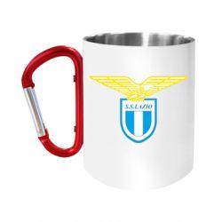 """Кружка с ручкой """"карабин"""" Lazio"""