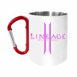 """Кружка с ручкой """"карабин"""" Lineage ll"""