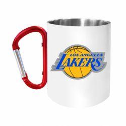 Кружка з ручкою-карабіном Los Angeles Lakers