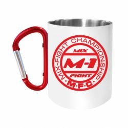 """Кружка с ручкой """"карабин"""" M-1 Logo"""