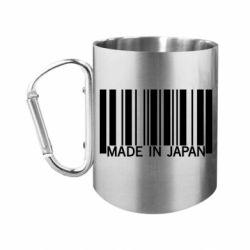 "Кружка с ручкой ""карабин"" Made in japan"