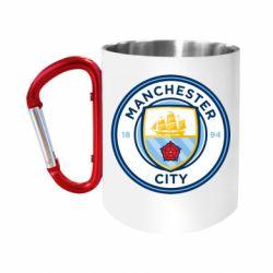 Кружка з ручкою-карабіном Manchester City