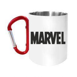 Кружка з ручкою-карабіном Marvel Minimal