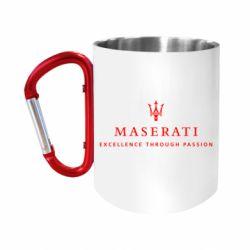 "Кружка с ручкой ""карабин"" Maserati"